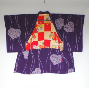 Silk Nagabaori - long haori (woman)